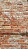 Vecchi mattoni rossi - frammento della parete della costruzione Fotografie Stock Libere da Diritti