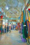 Vecchi mercati di visita di Shiraz, Iran immagine stock