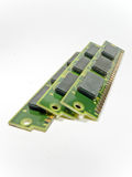 Vecchi moduli di RAM Fotografie Stock