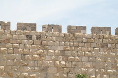 Vecchi mura di cinta, Gerusalemme Immagine Stock Libera da Diritti