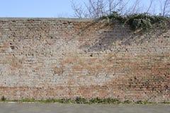 Vecchi mura perimetrali Immagini Stock