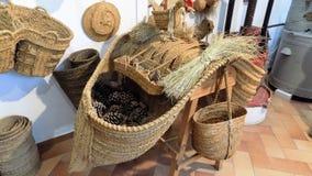 Vecchi oggetti dall'agricoltura-Andalusia-Spagna-Europa Fotografia Stock Libera da Diritti