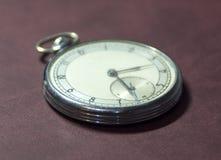 Vecchi orologi da tasca Immagine Stock