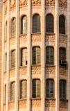 Vecchi otturatori in torre rotonda Fotografia Stock