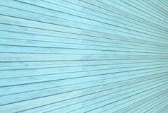 Vecchi, pannelli blu di legno di lerciume Fotografie Stock