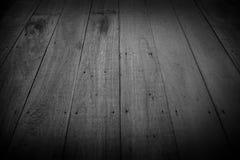 Vecchi pavimenti di legno, per struttura e fondo Immagine Stock Libera da Diritti