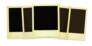 Vecchi Polaroids (XXLsize) Immagini Stock