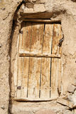 Vecchi portelli di legno Fotografia Stock