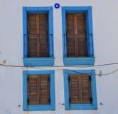 Vecchi portelli e Windows Immagine Stock Libera da Diritti
