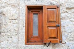 Vecchi portelli e Windows Fotografia Stock