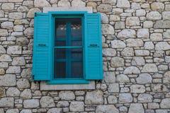 Vecchi portelli e Windows Immagine Stock