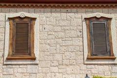 Vecchi portelli e Windows Immagini Stock Libere da Diritti