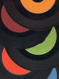Vecchi record Fotografia Stock