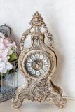 Vecchi retro orologi Fotografia Stock