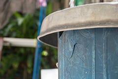 Vecchi rifiuti di plastica con la crepa Immagini Stock Libere da Diritti