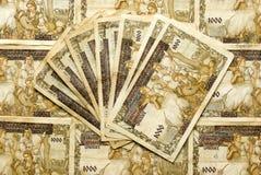 Vecchi soldi Immagine Stock Libera da Diritti