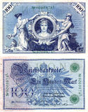 Vecchi soldi tedeschi 2 Immagini Stock