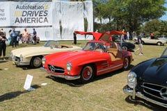 Vecchi sportscars del benz di Mercedes Immagine Stock