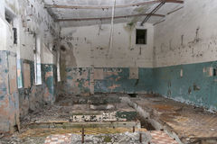 Vecchi stabilimenti industriali abbandonati Fotografia Stock Libera da Diritti