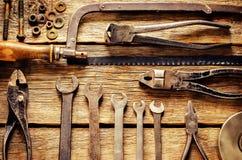 Vecchi strumenti Fotografie Stock