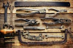 Vecchi strumenti Fotografie Stock Libere da Diritti