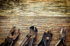 Vecchi strumenti Fotografia Stock Libera da Diritti