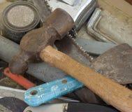 Vecchi strumenti. Immagini Stock
