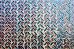 Vecchi struttura e fondo del metallo Fotografia Stock Libera da Diritti