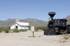 Vecchi studi di Tucson Fotografia Stock