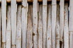 Vecchi tailandesi grungy handcraft del recinto di bambù del modello del tessuto Immagine Stock Libera da Diritti