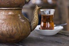 Cucina nazionale turca: tè Immagini Stock