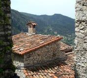 Vecchi tetti Immagine Stock