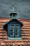 Vecchi tetti piastrellati della città, vecchia Praga, repubblica Ceca Immagine Stock Libera da Diritti