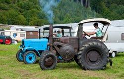 Vecchi trattori Immagini Stock