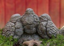 Vecchi uccelli di pietra Fotografia Stock Libera da Diritti