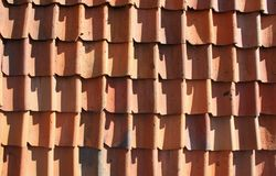 Vecchi vasi di argilla rossa Fotografie Stock Libere da Diritti