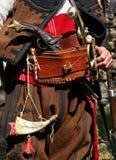 Vecchi vestiti ed attrezzatura ribelli bulgari Fotografia Stock Libera da Diritti