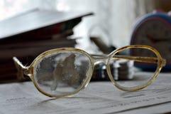 Vecchi vetri Immagini Stock