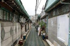 Vecchi vicoli di Jongno Fotografie Stock