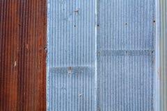 Vecchi zinco e ruggine Fotografia Stock