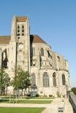 Vecchia abbazia francese Fotografie Stock