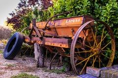Vecchia agricoltura dell'impianto di perforazione Fotografia Stock