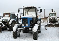 Vecchia agricoltura Machinerie Immagini Stock
