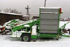 Vecchia agricoltura Machinerie Fotografia Stock Libera da Diritti
