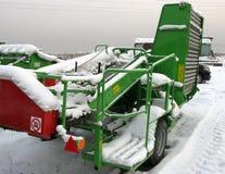 Vecchia agricoltura Machinerie Fotografie Stock Libere da Diritti