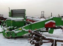 Vecchia agricoltura Machinerie Immagine Stock