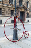 Vecchia alta bicicletta del carraio Fotografia Stock Libera da Diritti