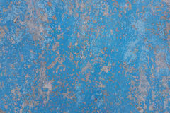 Vecchia annata colorata blu incrinata Fotografie Stock Libere da Diritti