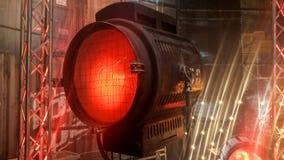 Vecchia apparecchio d'illuminazione di film Immagine Stock