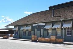Vecchia architettura ad ovest Immagine Stock